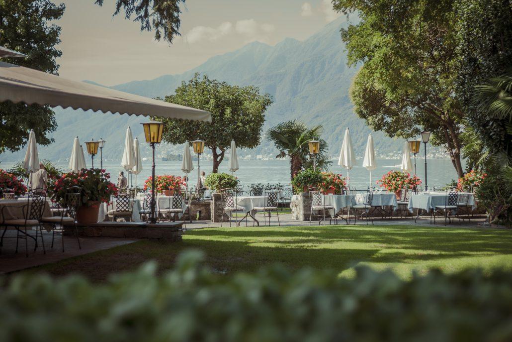 Ristorante al lago u romantik hotel castello